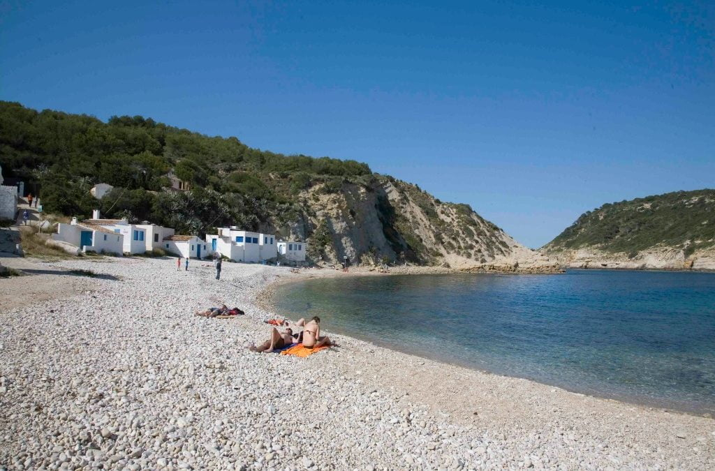 The best beaches and creeks in Javea